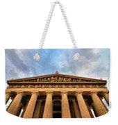 Parthenon From Below Weekender Tote Bag