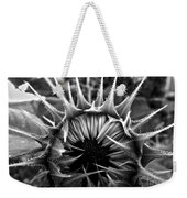 Partial Eclipse Of The Sunflower - Bw Weekender Tote Bag