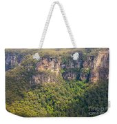 Partially Sunny Weekender Tote Bag