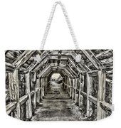 Partington Cove Tunnel By Diana Sainz Weekender Tote Bag