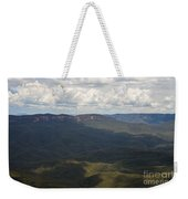 Partly Cloudy Day In The Blue Mountains Weekender Tote Bag