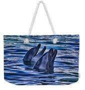 Partners In Blue Weekender Tote Bag