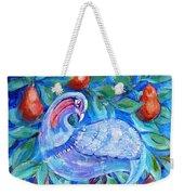 Partridge In A Pear Tree  Weekender Tote Bag