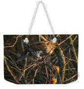 Partridge In An Apple Tree Weekender Tote Bag
