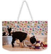 Party On Puppy Weekender Tote Bag