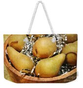 Party Pears Weekender Tote Bag by Andee Design