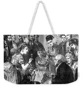 Party Toast, 1872 Weekender Tote Bag