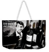 Partying With Dean Weekender Tote Bag