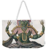 Parvati, From Voyage Aux Indes Et A La Weekender Tote Bag