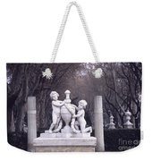 Paseo Del Prado In Winter Madrid Weekender Tote Bag