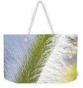 Pasqueflower Stem  Weekender Tote Bag