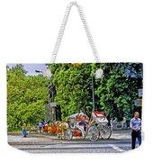 Passenger Cars Only - Central Park Weekender Tote Bag