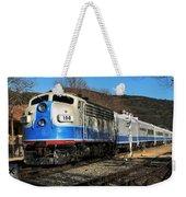Passenger Train Weekender Tote Bag