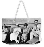 Passengers On Ship, 1912 Weekender Tote Bag