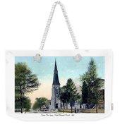 Passiac New Jersey - Norht Reformed Church - 1910 Weekender Tote Bag