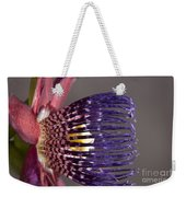 Passiflora Alata - Passion Flower - Ruby Star - Ouvaca Weekender Tote Bag