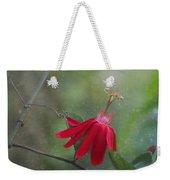 Passiflora Flower Weekender Tote Bag