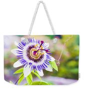 Passiflora Or Passion Flower Weekender Tote Bag