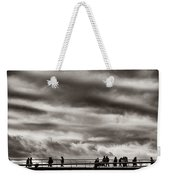 Passing Clouds Weekender Tote Bag