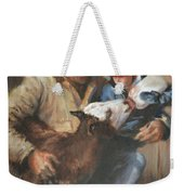 Passing The Torch Weekender Tote Bag