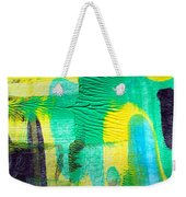 Passing Time Acrylic Mind Image  Weekender Tote Bag by Sir Josef - Social Critic -  Maha Art