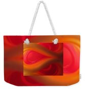 Passion Abstract 02 Weekender Tote Bag by Ausra Huntington nee Paulauskaite