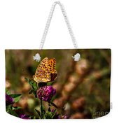 Passion Butterfly Weekender Tote Bag