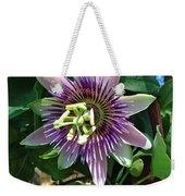 Passion Flower 4 Weekender Tote Bag