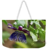Passion Flower - Ruby Glow Weekender Tote Bag