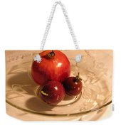Passion Fruit And Pomegranate Weekender Tote Bag
