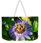 Passion Fruit Flower Weekender Tote Bag