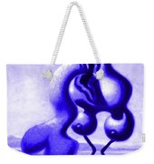 Passion In Blue Weekender Tote Bag