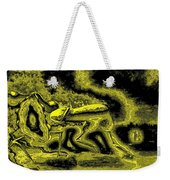 Passion In Grainy Gold Weekender Tote Bag