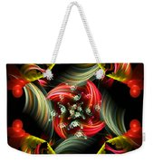 Passionate Love Bouquet Abstract Weekender Tote Bag
