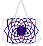 Passionate Purple Prayers Abstract Chakra Art By Omaste Witkowsk Weekender Tote Bag