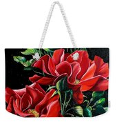 Passionately Red  Weekender Tote Bag