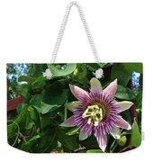 Passion Flower 3 Weekender Tote Bag