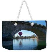 Past And Present Meet Weekender Tote Bag