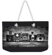 Past Cameras Weekender Tote Bag