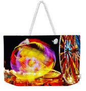 Past Sunset Midway Weekender Tote Bag