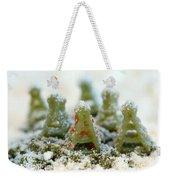 Pasta Christmas Trees Weekender Tote Bag