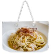 Pasta Food Weekender Tote Bag
