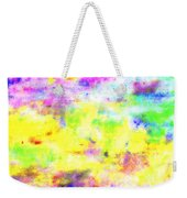 Pastel Abstract Patterns I Weekender Tote Bag