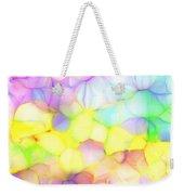 Pastel Abstract Patterns IIi Weekender Tote Bag