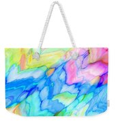 Pastel Abstract Patterns V Weekender Tote Bag