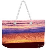 Pastel - Abstract Waves Rolling In During Sunset. Weekender Tote Bag