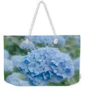 Pastel Blue Hydrangea Weekender Tote Bag