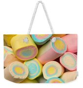 Pastel Colored Marshmallows Weekender Tote Bag