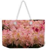 Pastel Coral Azaleas Refreshed By The Rains Weekender Tote Bag
