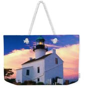 Pastel Drawing Old Point Loma Lighthouse Cabrillo National Monument California Weekender Tote Bag